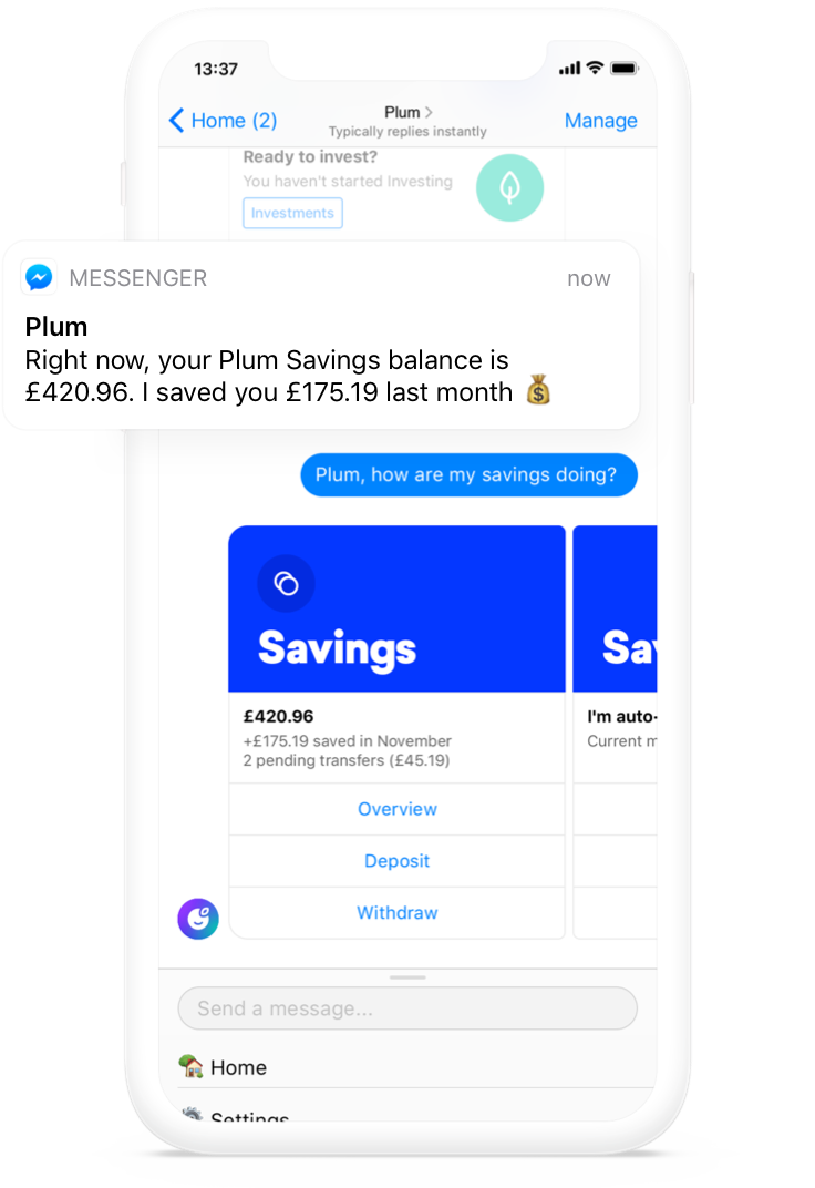 Plum – your money's best friend