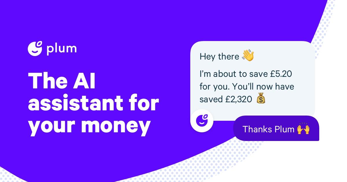 Plum – your money's best friend